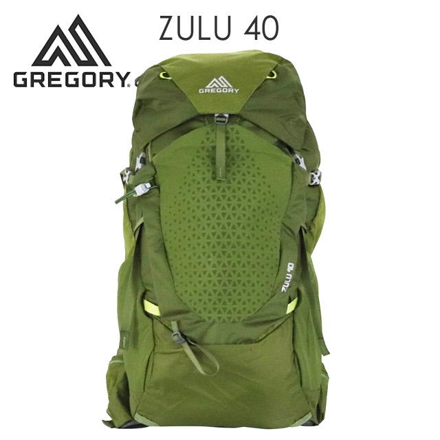 Gregory 登山リュック ZULU40 40L M/L マンティスグリーン 1115907412