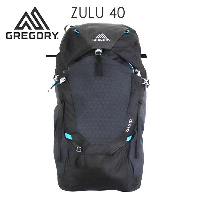 Gregory 登山リュック ZULU40 40L M/L オゾンブラック 1115907416