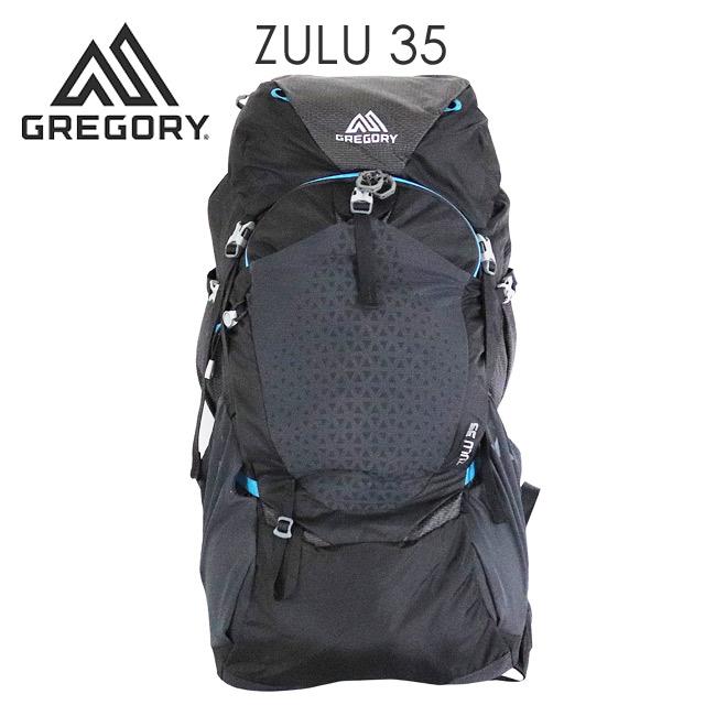 Gregory 登山リュック ZULU35 35L M/L オゾンブラック 1115837416