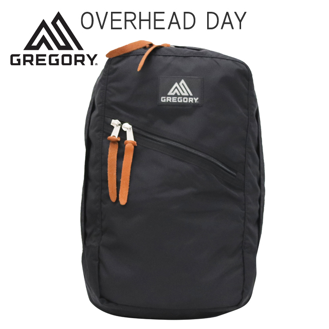Gregory バックパック OVERHEAD DAY 22L ブラック 73297-1041