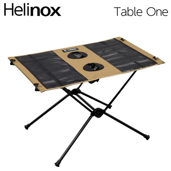 Helinox ヘリノックス Table One Coyote Tan テーブルワン コヨーテタン 折りたたみテーブル