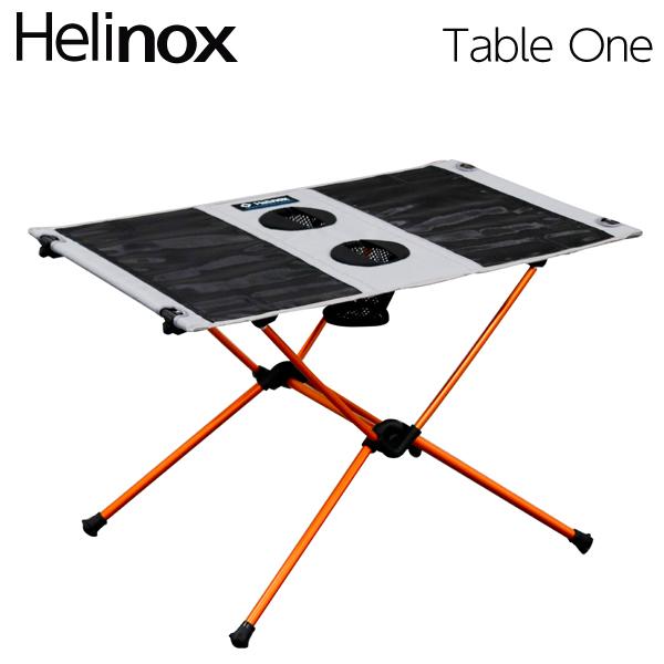 Helinox ヘリノックス Table One Grey テーブルワン グレー 折りたたみテーブル