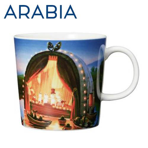Arabia Moomin ムーミン マグカップ 黄金のしっぽ 300ml