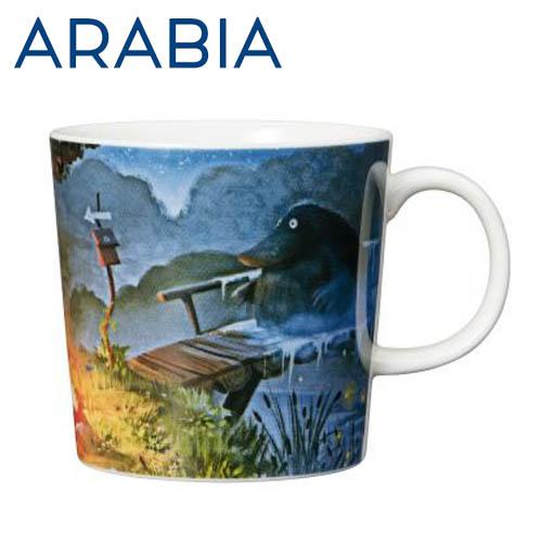 Arabia Moomin ムーミン マグカップ モランの夜 300ml