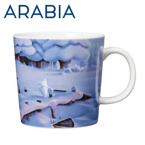 Arabia Moomin ムーミン マグカップ 真冬のご先祖さま 300ml