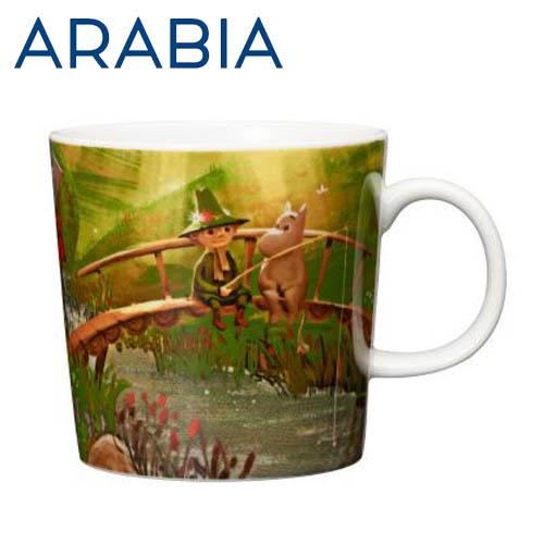 Arabia Moomin ムーミン マグカップ 世界でいちばん最後の竜 300ml