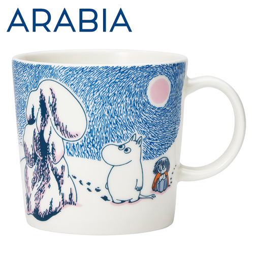 Arabia Moomin ムーミン マグカップ クラウンスノーロード 300ml