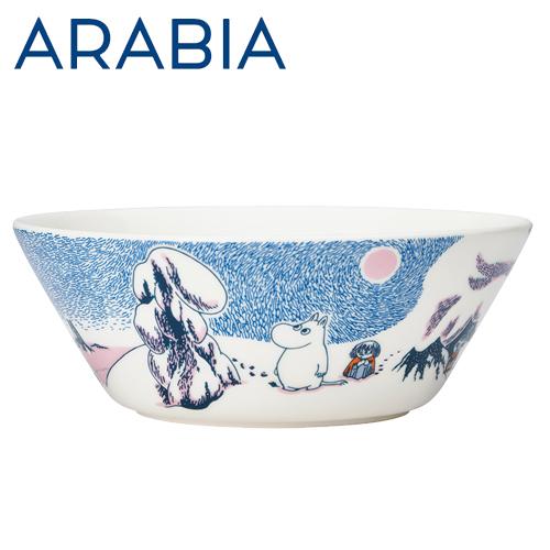 Arabia Moomin ムーミン ボウル クラウンスノーロード 450ml