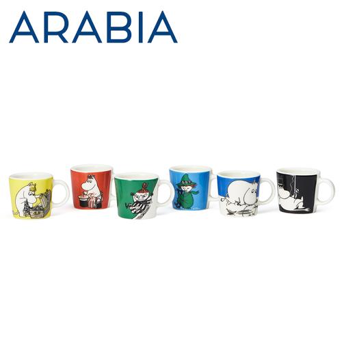 ARABIA アラビア Moomin ムーミン ミニマグ オーナメント クラシック 6個セット classics