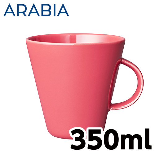 Arabia アラビア ココ KoKo マグ 350ml コーラル