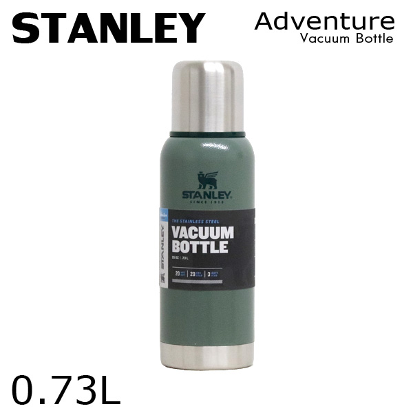 STANLEY スタンレー Adventure Vacuum Bottle アドベンチャー 真空ボトル ハンマートーングリーン 0.73L 25oz