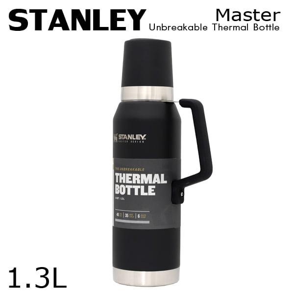 STANLEY スタンレー Master Unbreakable Thermal Bottle マスター 真空ボトル マットブラック 1.3L 1.4QT