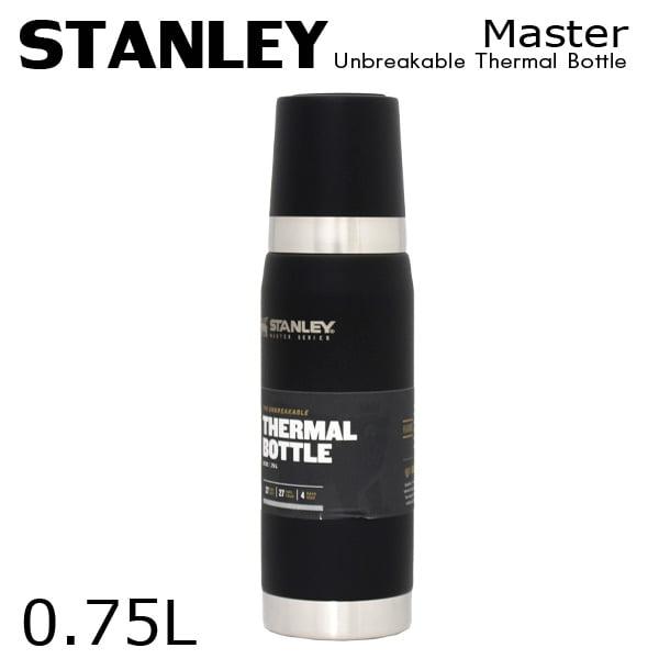 STANLEY スタンレー Master Unbreakable Thermal Bottle マスター 真空ボトル マットブラック 0.75L 25oz