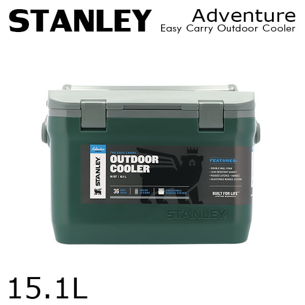 STANLEY スタンレー Adventure Easy Carry Outdoor Cooler アドベンチャー クーラーボックス グリーン 15.1L 16QT