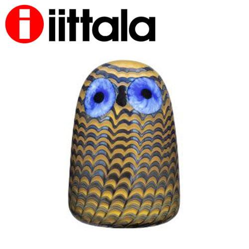 iittala イッタラ Birds by Toikka バード フクロウ(子) 75×105mm Owlet glassbird