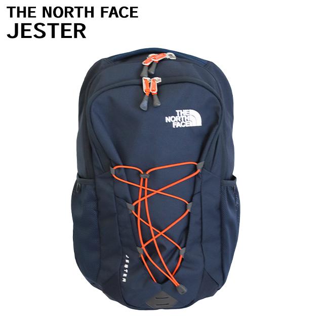 THE NORTH FACE バックパック JESTER ジェスター 29L アーバンネイビー×ペルシアンオレンジ