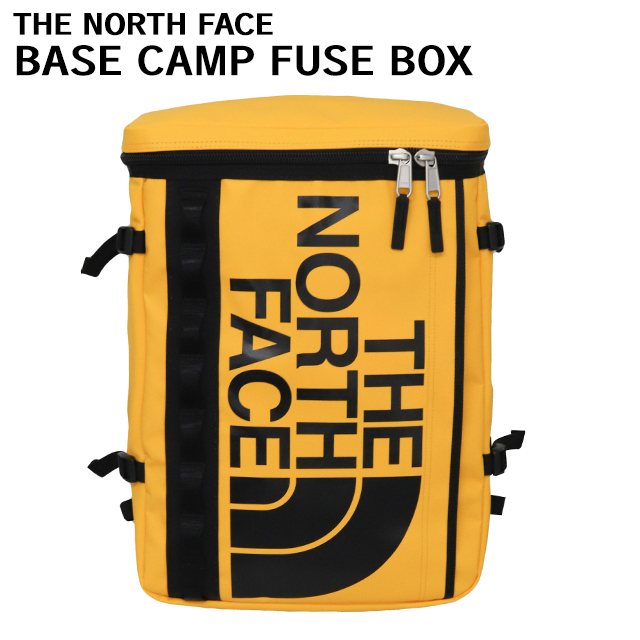THE NORTH FACE バックパック BASE CAMP FUSE BOX ベースキャンプ ヒューズボックス 30L サミットゴールド