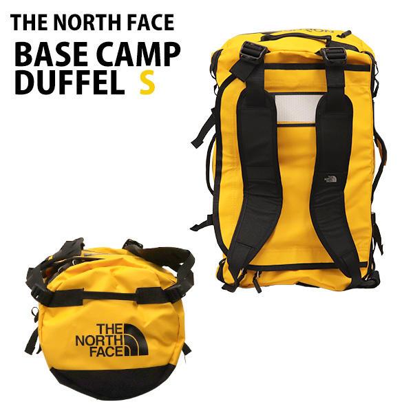 THE NORTH FACE バックパック BASE CAMP DUFFEL S ベースキャンプ ダッフル 50L サミットゴールド×TNFブラック