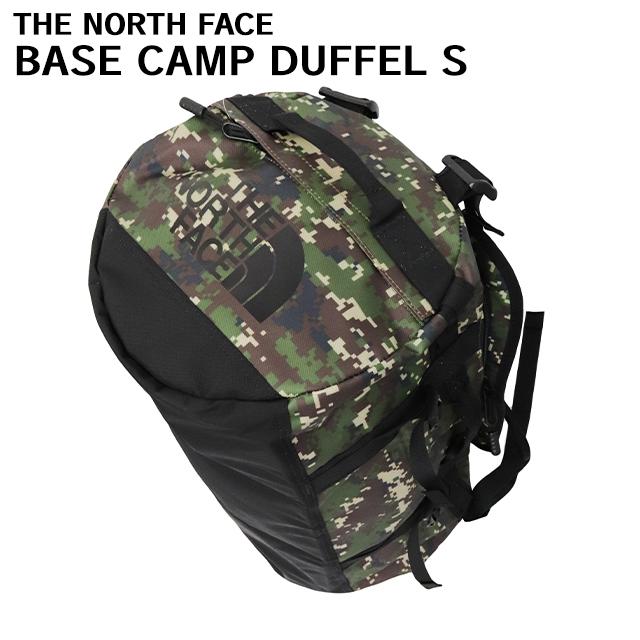 THE NORTH FACE バックパック BASE CAMP DUFFEL S ベースキャンプ ダッフル 50L ブラントオリーブグリーンデジカモ×TNFブラック