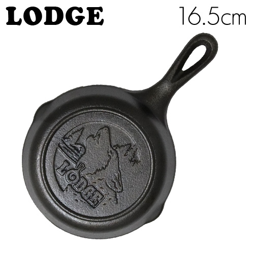 LODGE ロジック スキレット 6-1/2インチ ウルフ CAST IRON SKILLET WITH WOLF SCENE L3SKWLWF
