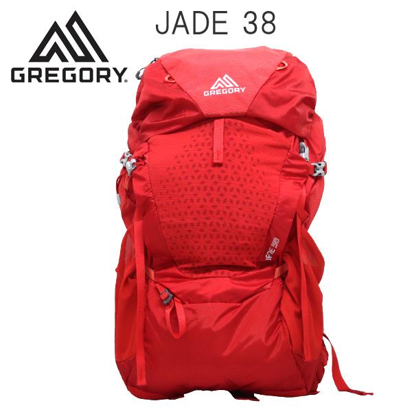 Gregory バックパック JADE38 38L SM/MD ポピーレッド 1115731710