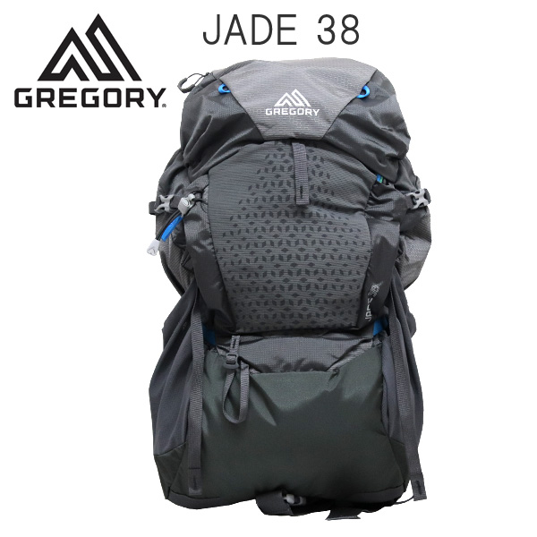 Gregory バックパック JADE38 38L SM/MD エーテルグレー 1115737414
