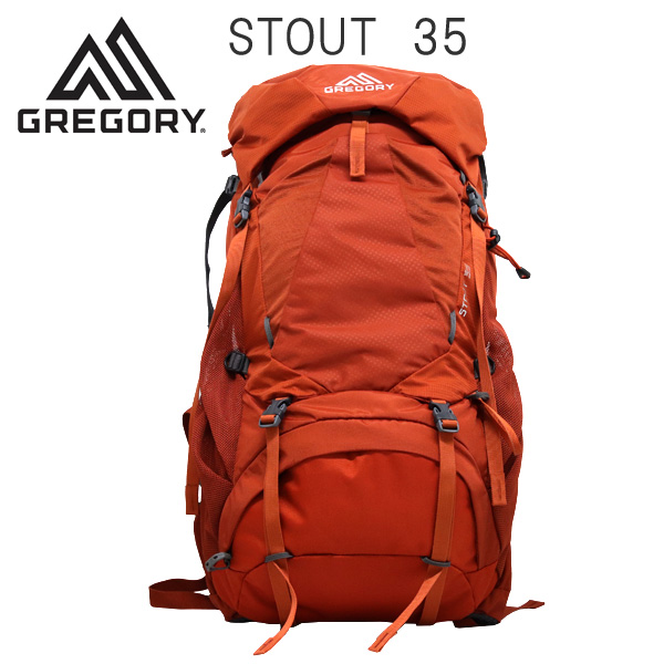 Gregory バックパック STOUT35 スパークオレンジ 35L 1268710626