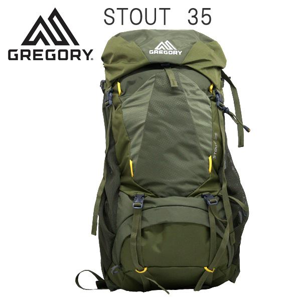 Gregory バックパック STOUT35 フェンネルグリーン 35L 1268711333