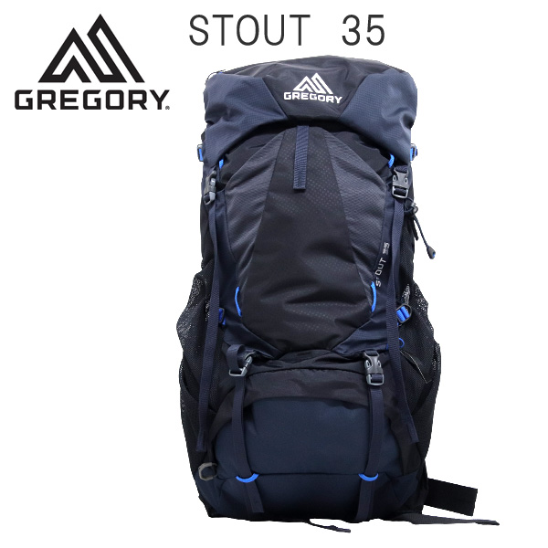 Gregory バックパック STOUT35 ファントムブルー 35L 1268718320