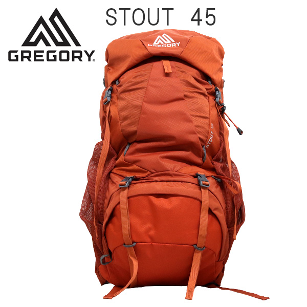 Gregory バックパック STOUT45 スパークオレンジ 45L 1268720626