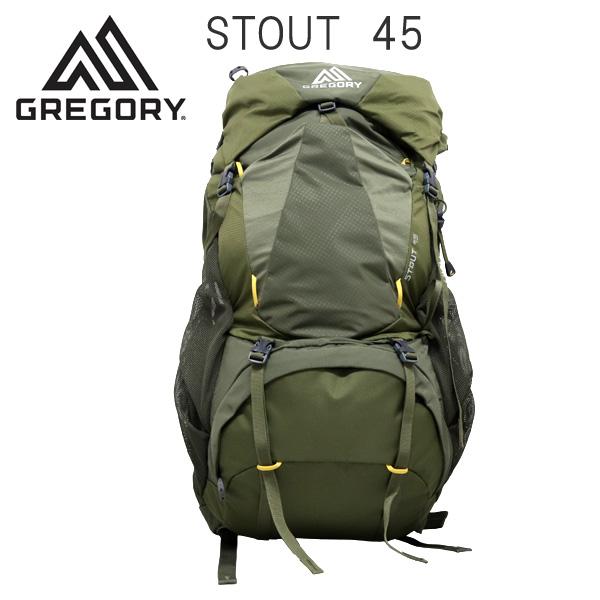 Gregory バックパック STOUT45 フェンネルグリーン 45L 1268721333