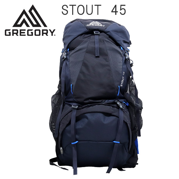 Gregory バックパック STOUT45 ファントムブルー 45L 1268728320