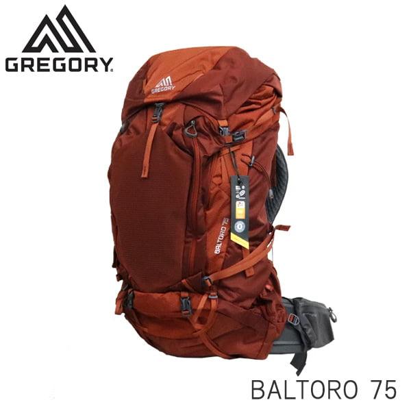 Gregory グレゴリー バックパック BALTORO バルトロ 75 75L MD フェラスオレンジ 916126397