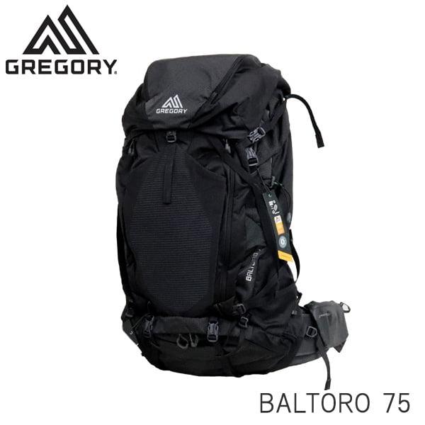 Gregory グレゴリー バックパック BALTORO バルトロ 75 75L MD オニクスブラック 916090581