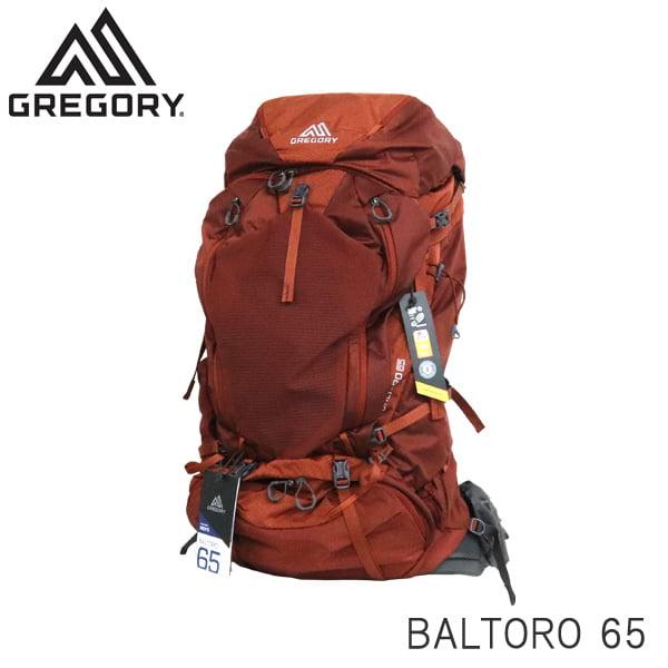 Gregory グレゴリー バックパック BALTORO バルトロ 65 65L MD フェラスオレンジ 916096397