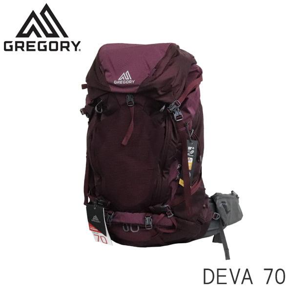 Gregory グレゴリー バックパック DEVA ディバ 70 70L SM プラムレッド 916256400