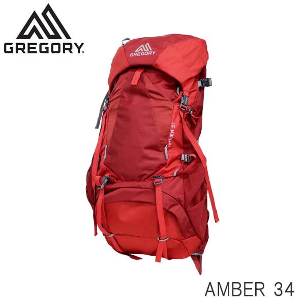 Gregory グレゴリー バックパック AMBER アンバー 34 34L シエナレッド 126867T430