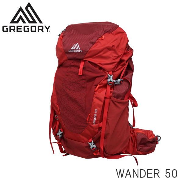 Gregory グレゴリー バックパック WANDER ワンダー 50 50L ファイアリーレッド 1114747413