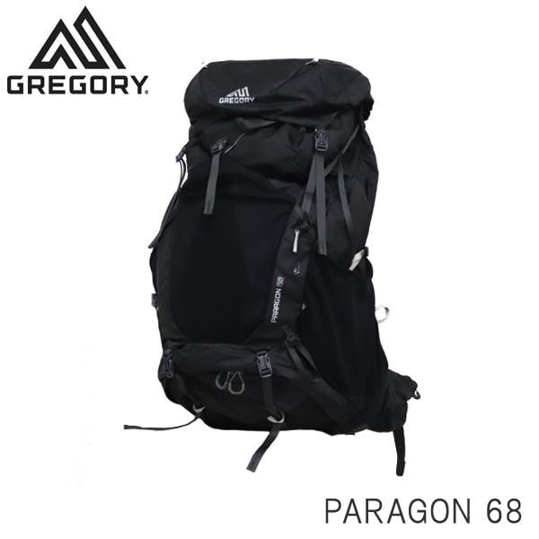 GREGORY グレゴリー バックパック PARAGON パラゴン 68 68L M/L バサルトブラック 1268472917