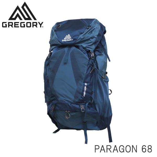 Gregory グレゴリー バックパック PARAGON パラゴン 68 68L MD/LG グラファイトブルー 1268471375
