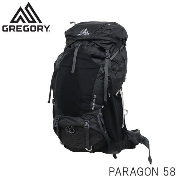 Gregory グレゴリー バックパック PARAGON パラゴン 58 58L MD/LG バサルトブラック 1268452917