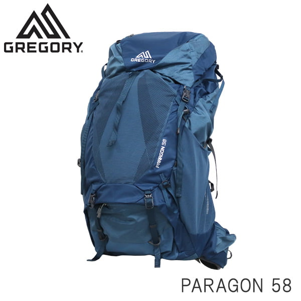 Gregory グレゴリー バックパック PARAGON パラゴン 58 58L MD/LG グラファイトブルー 1268451375