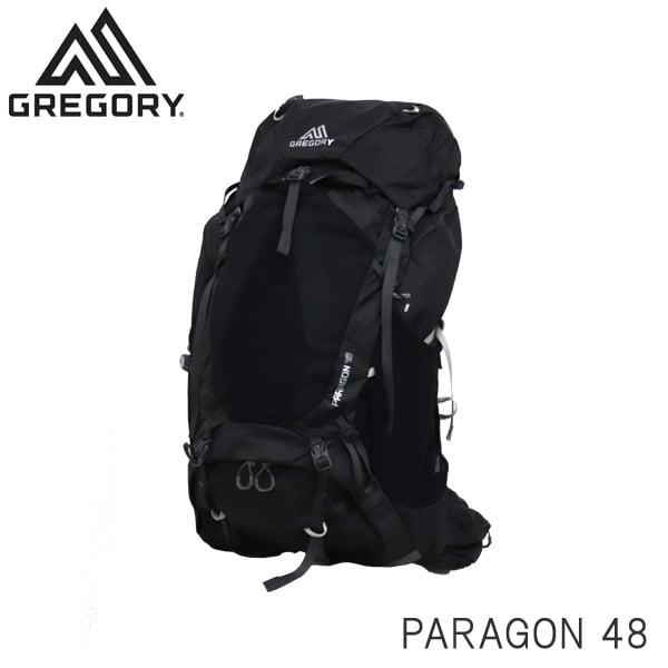 Gregory グレゴリー バックパック PARAGON パラゴン 48 48L MD/LG バサルトブラック 126843291