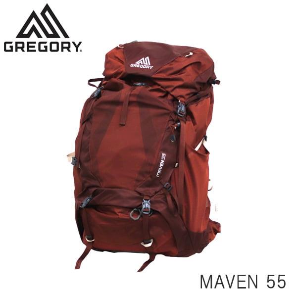 GREGORY グレゴリー バックパック MAVEN メイブン 55 55L S/M ローズウッドレッド 1268390604