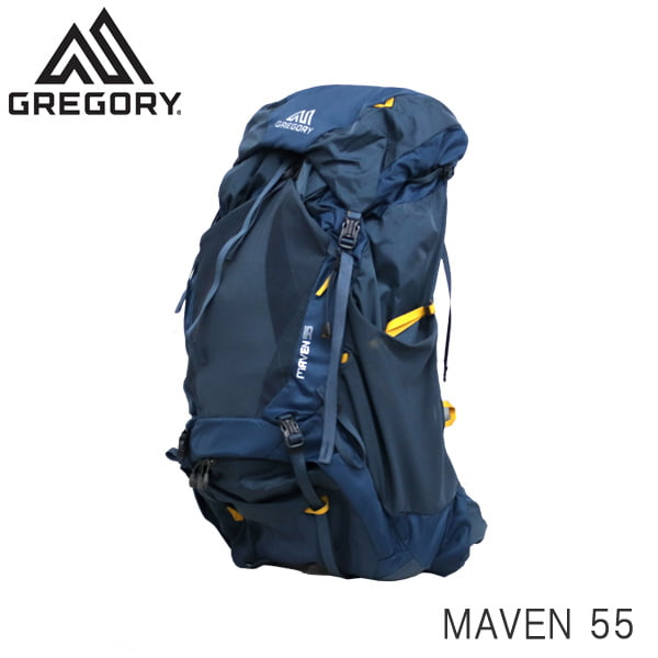 GREGORY グレゴリー バックパック MAVEN メイブン 55 55L S/M スペクトラムブルー 1268398325