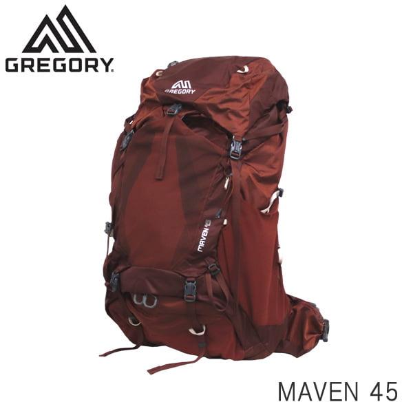 GREGORY グレゴリー バックパック MAVEN メイブン 45 45L S/M ローズウッドレッド 1268370604