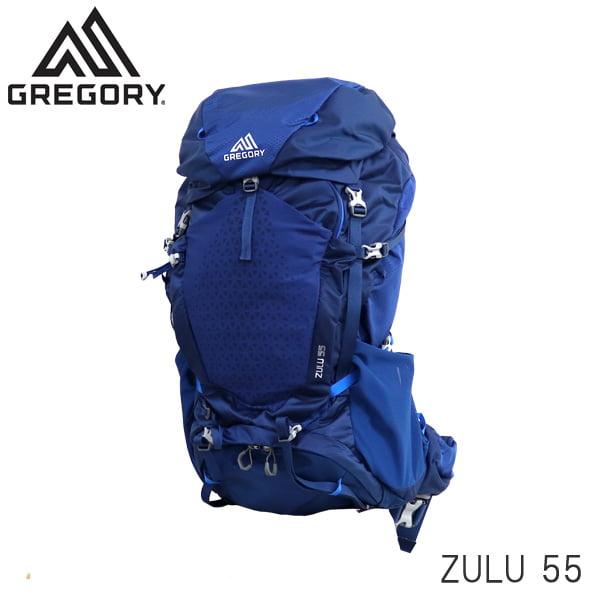 Gregory グレゴリー バックパック ZULU ズール 55 55L MD/LG エンパイアブルー 1115927411