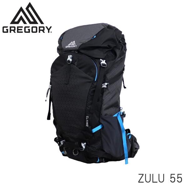 Gregory グレゴリー バックパック ZULU ズール 55 55L MD/LG オゾンブラック 1115927416