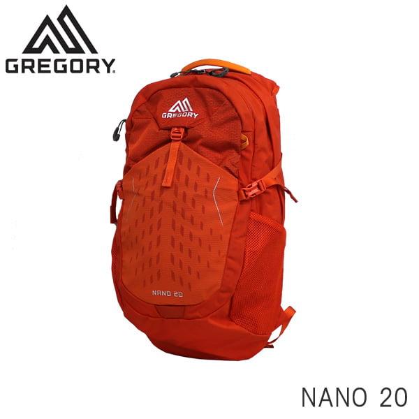 GREGORY グレゴリー バックパック NANO ナノ 20 20L バーニッシュドオレンジ 1114994844