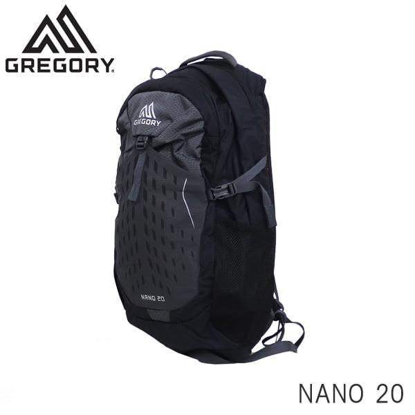 GREGORY グレゴリー バックパック NANO ナノ 20 20L エクリプスブラック 1114997406